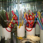 Plastic extruded tubes