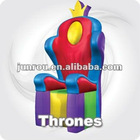Queen/King throne inflatable chair K3026