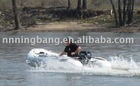 new 300cm inflatable white speed boat