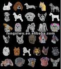Car Decals Rhinestone sticker shape crystal car stickers ANIMAL