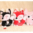plush animal fox toy