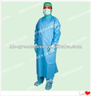 Disposable Spunlace Reinforced Surgical Gown