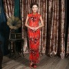 QDQP-058 Cheongsam Chinese National Dress Evening Dress