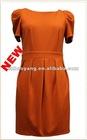 puff short sleeve pontry roma dress-woman dress