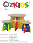 Kindergardern Modern Moody Kids Table and Stools