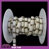 Wholesale Fancy Rwctangle White Metal Chain