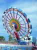 Amusement park machine --Bravemen's Wheel