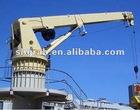 19T 10.2m marine crane Telescopic Boom Hydraulic Marine Deck Crane