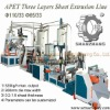 520kg/h Output Three layers APET Sheet Production Line