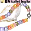 shell pearl strand mother of pearl loose pearl MOP imitation pearl dyed pearl