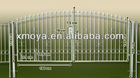 Steel automatic factory gate designs