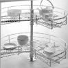 metal chromed kitchen wire basket