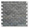 grey tumbled natural slate stone veneer