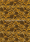 HL-209053 Yellow Nylon lace fabric for dress