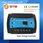 12V/24V pwm solar charge controller 10a with competitive priceSR-LR