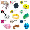 cheap 3inch 4inch lovely stuffed germs plush toys