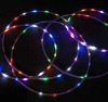 led light up flashing hula hoop