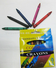 12colours children wax crayons