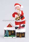 SANTA WITH FIRE CHIMNEY