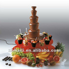 illluminated surround Chocolate Fountain