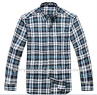 fashion mens heavy cotton plaids shirts