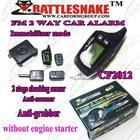 two way car alarm system English version Anti-hijacking 2-stage shocking sensorLong distance 1000m without engine starter