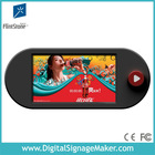 """9"""" LCD battery Video Display, LCD Battery powered shelf edge video player."""