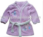 Children Cotton Velvet Sleeping Robe