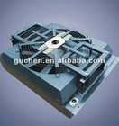 aluminium plate fin hydraulic oil cooler for rotary drilling rig