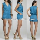 Low Neck Romper 2012 New Design; Fashion Sexy Jumpsuit (DR2350)