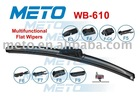 Flat Wiper Blade WB-610 METO Multifunctional
