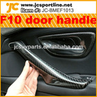 Auto Interior accessories Carbon Fiber F10 Inside Door Handle Bar for BMW
