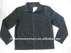 Mens black fashion liner wear with zipper