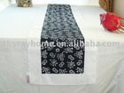 Blue and white porcelain table runner/table cloth