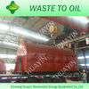 waste tire recycling machine with automatic feeder and negative pressure