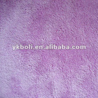 Microfiber polished terry fabric