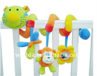 tiger head crib and stroller hanging toys