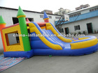 Customized Inflatable combo with multicolor