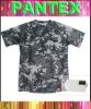 printed super soft men's camouflage t-shirt