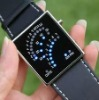 the latest mirror led silicone watch