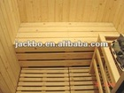 Sauna equipment -- wooden dry suana room for 1-2 people Finland white pine