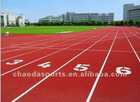 synthetic rubber track