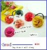 2012 fashion 6 colors chiffon hair flower head flower with elastic band