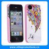 Fashion design IMD/IML for iphone 4s hard plastic case