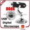 Digital Microscope 2MP 800X 8LED USB Endoscope Magnifier Camera