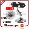 Digital Microscope 2MP 800X 8LED USB Endoscope Magnifier Camera