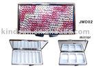 Jeweled metal Pill box