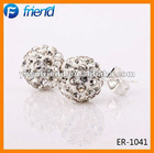 cheap wholesale shamballa earrings