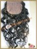 Chinese virgin hair silk based top closure