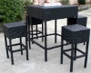 outdoor rattan bar chair AWRF5075